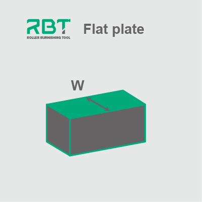 Roller Burnishing Tool for ID Flat Plate (Flat Surface)