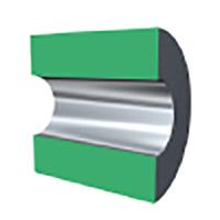 Internal roller burnishing tool for through hole