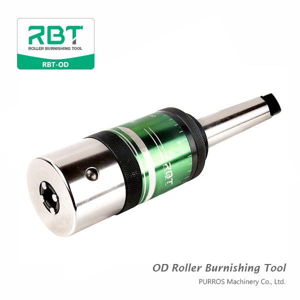 OD Roller Burnishing Tool (Outside Diameters Roller Burnishing Tool) RBT-OD