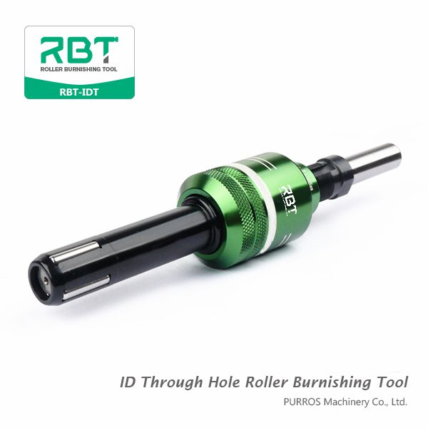 ID Through Hole Roller Burnishing Tools RBT-IDT, Internal Roller Burnishing Tools for Through Hole