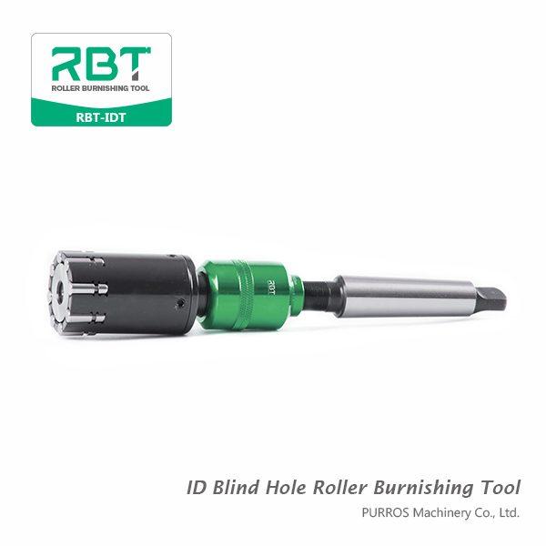 ID Blind Hole Roller Burnishing Tool RBT-IDB, China Roller Burnishing Supplier