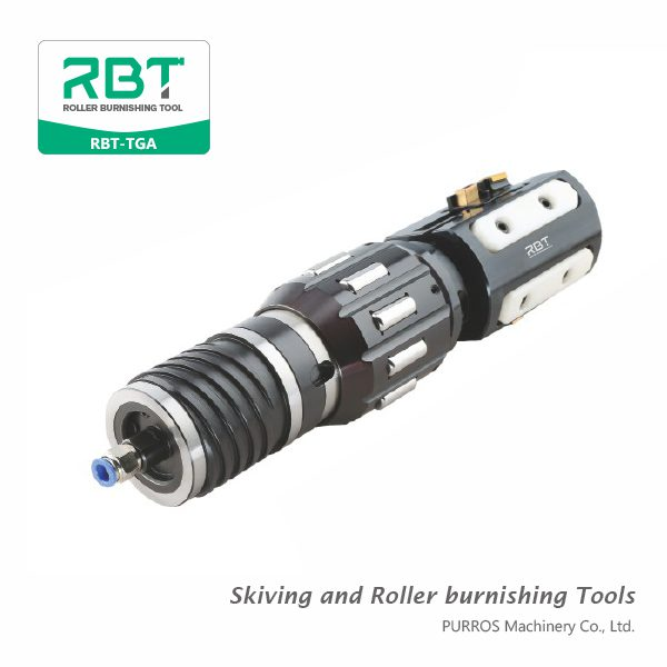 RBT Skiving and Roller burnishing Tools for Oil Cylinder, Cutting And Roller Burnishing for Inside Diameter Surface Holes