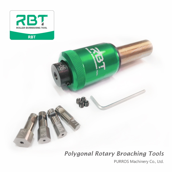 RBT Hexagonal Rotary Broaching Tool, Hex Rotary Broacher Manufacturer, RBT polygonal holes and rotary broaching tools, Polygonal Rotary Broaching Tools