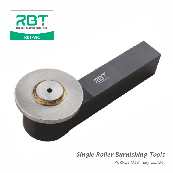 Single Roller Outer Diameter Burnishing Tools, Outside Surface Single Roller Burnishing Tool