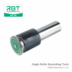 RBT Inner Diameter Carbide Single Roller Burnishing Tools, Inside Surface Single Roller Burnishing Tool