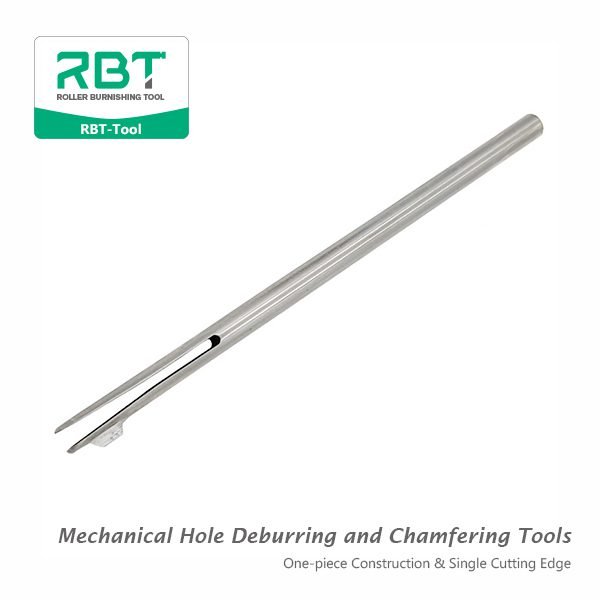 Mechanical Hole Deburring and Chamfering Tools (One-piece Construction & No adjustment)