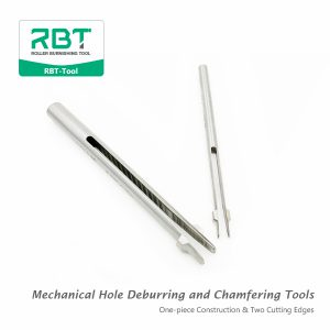 BURR-OFF universal deburring tools, RBT Mechanical Hole Deburring and Chamfering Tools