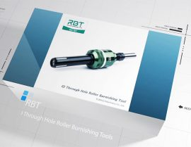 What's the effect of roller burnishing process on workpiece performance?