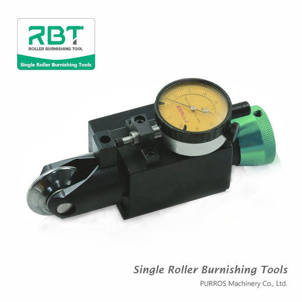 Slim Shaped Single Roller Groove Burnishing Tool (with Force Gauge), Universal Burnishing Tools Manufacturer & Exporter & Supplier