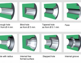 What should be noted before roller burnishing tools?