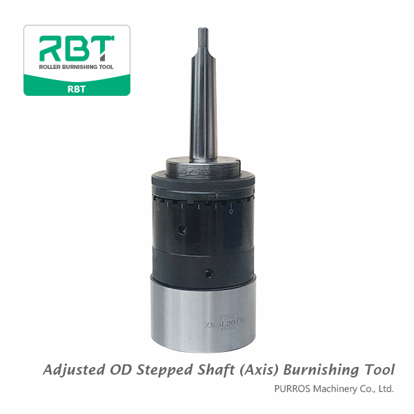 Adjusted Outer Diameter Stepped Shaft Burnishing Tool, OD Burnishing Tool, Adjusted OD Stepped Shaft Burnishing Tool, Stepped Shaft Roller Burnishing Tool, How to rolling Stepped Shaft, OD Stepped Shaft Burnishing Tool Manufacturer, OD Stepped Shaft Burnishing Tool Supplier, OD Stepped Shaft Burnishing Tool Factory Price, How to achieve Ra0.2-0.4μm of surface roughness with burnishing tool, Burnishing Tool for Pulley Crank Shaft, OD Stepped Shaft Burnishing Tool for Car Engine